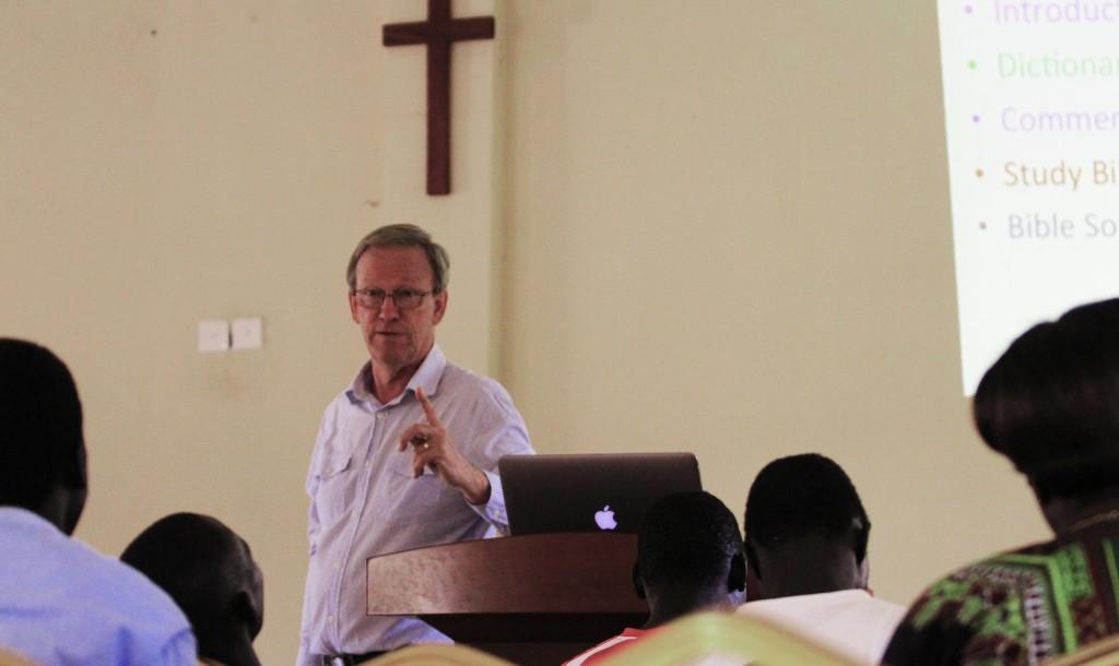 Jan Vat teaching at BGC